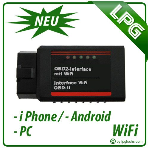 OBD2 Adapter - WiFi / für Android, iPhone, iPad etc.
