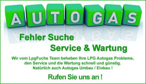 Sie haben ein Problem mit Ihrer Autogas Anlage ? - Wir kommen zu Ihnen !
